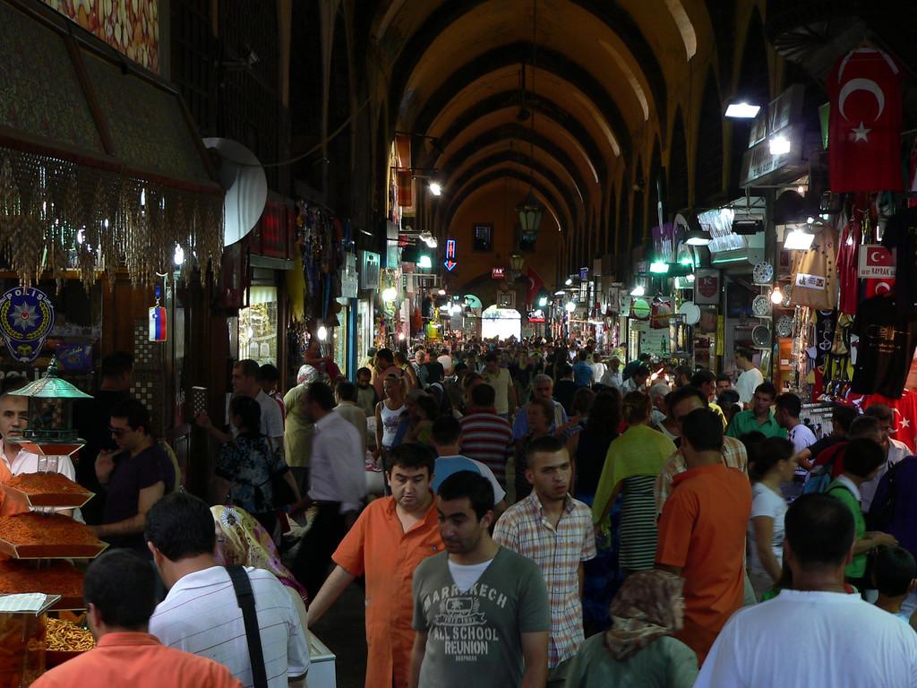 September 06 2007<br /> <br /> Grand Bazaar, Istanbul