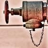 B.H Fire hose valve.