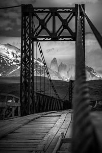 The Black Bridge , Torres del Paine, Chile