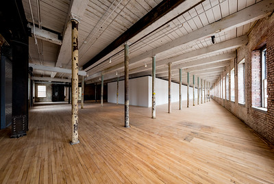 south Hall 2nd Floor, #4, Building 6 at Mass MoCA, North Adams, MA.