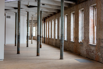 South Hall 2nd Floor, #2, Building 6 at Mass MoCA, North Adams, MA.