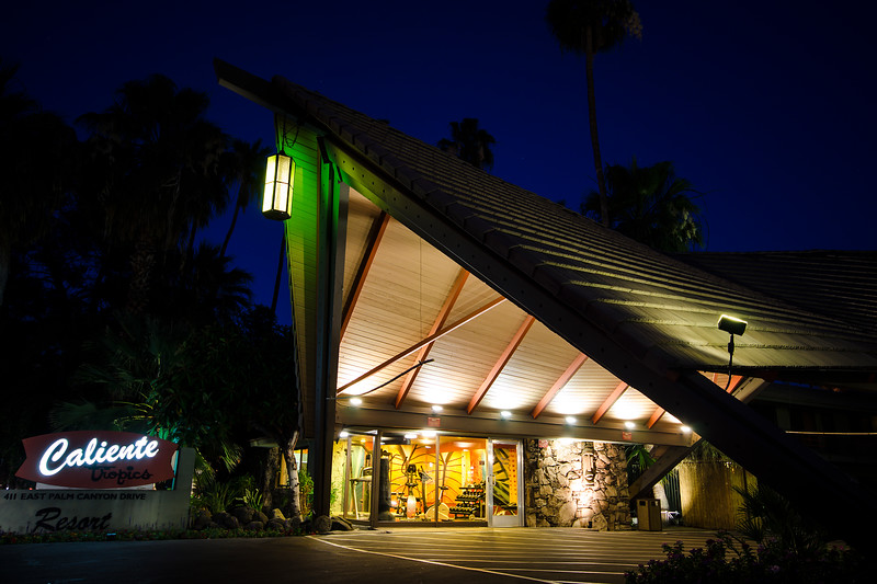 Caliente motel, Palm Springs