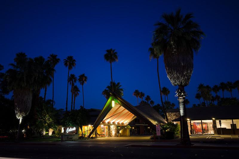 50's Tiki style motel