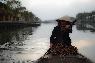 Thu Bon River, Quang Nam Province, Vietnam 2017
