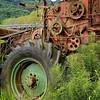 Retired harvester