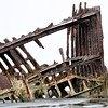 Wreck of Peter Iredale at Ft. Stevens State Park, Or.