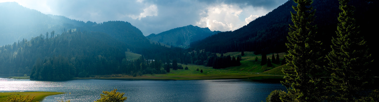 spitzingsee panorama