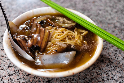 Fried Eel Noodles