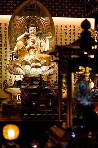 Perched Bodhisatva