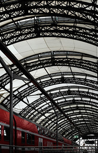 Hauptbahnhof Ironwork