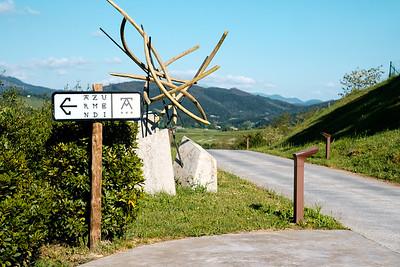 Azurmendi 1 - Entrance