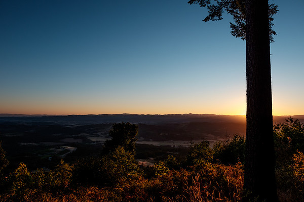 Oregon Valley Overlook