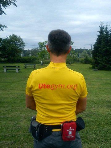 utegym.org er en frivillig organisasjon som jobber for å få fler folk i bevegelse  -- by Susan-Merete Jakobsen