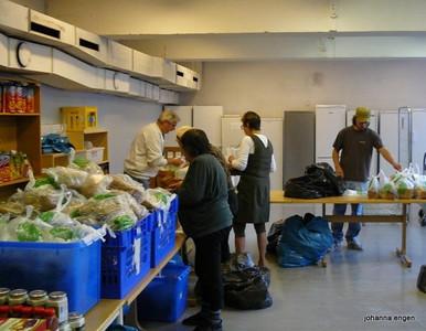 Fattighuset er en brukerstyrt organisasjon som jobber mot fattigdom.  -- by Johanna Engen