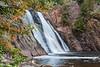 High Falls - Baptism River<br /> Tettegouche State Park, Minnesota.