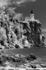 Splitrock<br /> Infrared view of this famous lighthouse along Minnesota's north shore of Lake Superior (known as Gichigami by the Ojibwe).