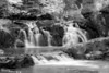 Two Step Falls - Baptism River<br /> Infrared view of Two Step Falls at Tettegouche State Park, Minnesota.