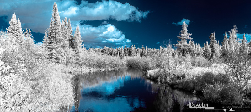 Poplar River - Infrared