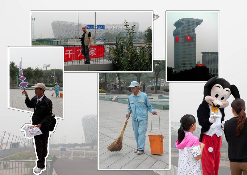 BEIJING   :    Toer door de stad
