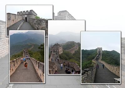 De Chinese Muur is een van de bekendste door mensen gemaakte dingen op aarde. Keizer Qin Shi Huangdi begon met de bouw rond 214 v.C. De muur bestaat aan de buitenkant uit bakstenen, van binnen uit aarde en steen en is zo'n acht meter hoog. Alle latere dynastieën hebben aan de muur gewerkt en versterkten en moderniseerde hem. De Muur staat sinds 1987 op de wereld-erfgoedlijst van de Unesco. De totale lengte van de muur bedraagt meer dan 8000 kilometer.