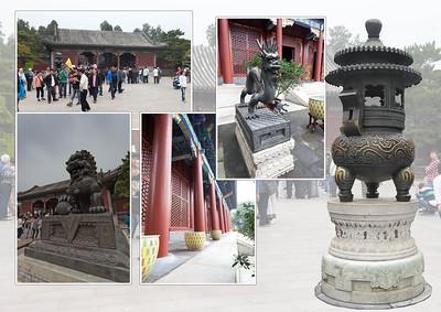 BEIJING           Het Zomerpaleis is volledig ommuurd met tuinen, paviljoenen en tempeltjes. Het was de favoriete verblijfplaats van keizerin Cixi, die ook de laatste keizer Puyi op de troon bracht. Draken en fabeldieren bewaken de ingangen van de gebouwen.