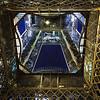 Eiffel Tower Strobes Paris France