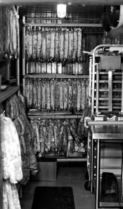 Otto meat curing room