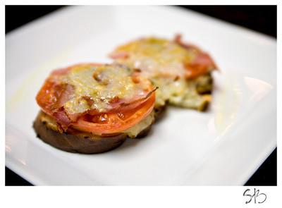 Tomato Prosciutto Bruschetta