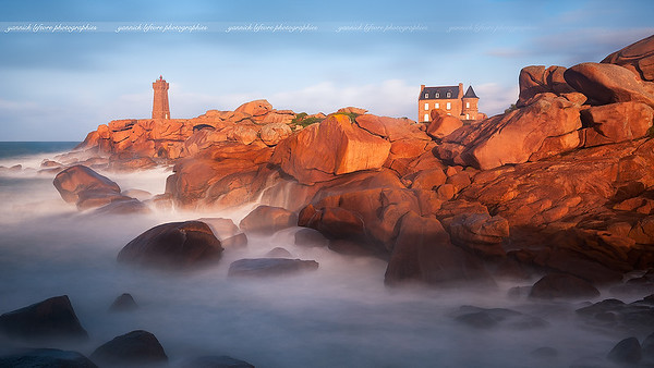 Mean Ruz Lighthouse, Ploumanac'h
