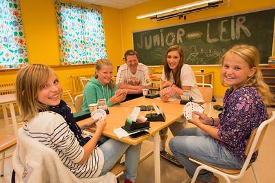 Elever som lærer bridge presterer 25 % bedre i matematikk. Tanksport som valgfag! --  Foto av Svein Erik Dahl.