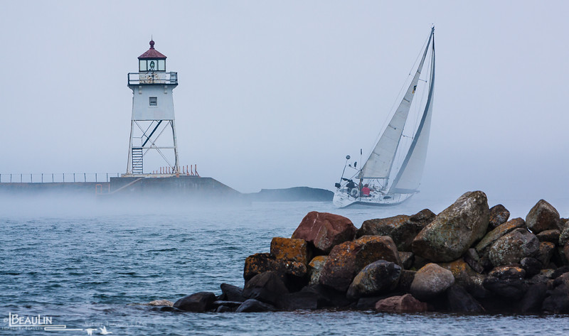 Sailin' Into the Fog