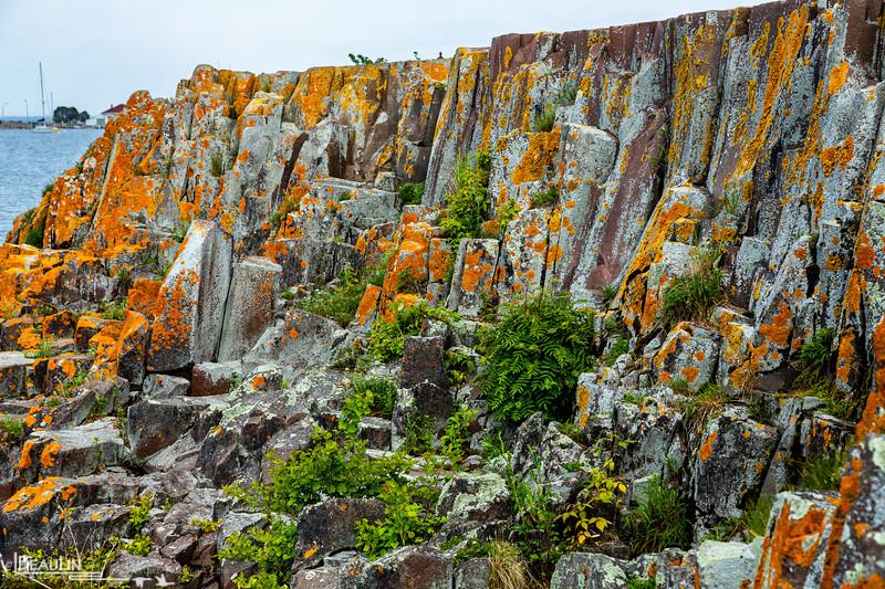 Basalt Breakwater Abstract