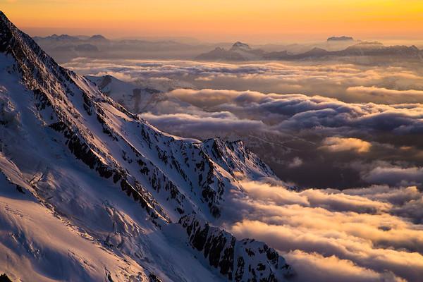 Mont Blanc slopes