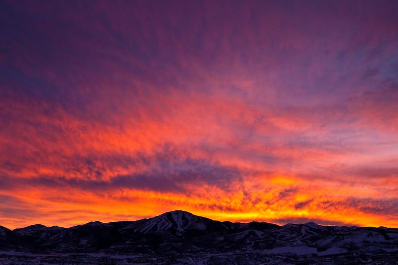 Deer Valley sunset