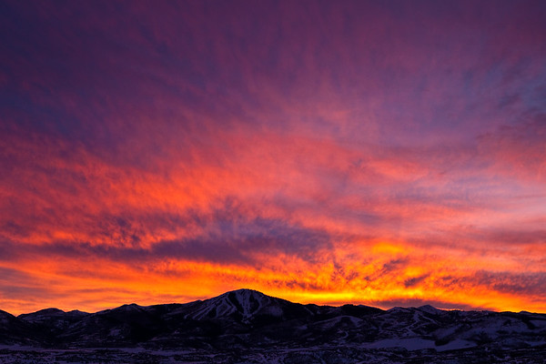 Deer Valley sunset
