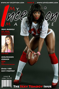 Cover shot for My Inception Magazine issue 8 photographed by me. Model: Gabbie | Hair/Makeup: Kim