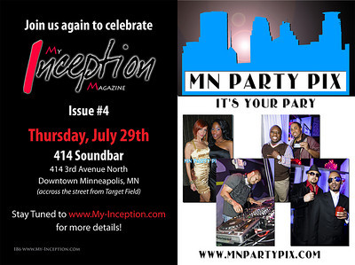 Pics taken during the MIM Issue #3 Release Party at 414 Soundbar