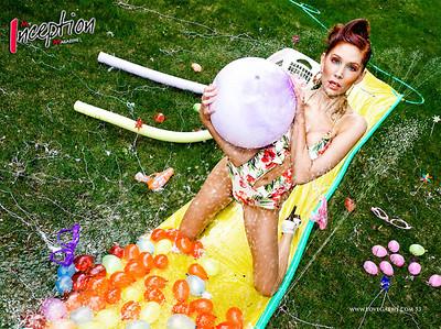 Editorial shoot for My Inception Magazine | MUA/Hairstylist: Kim | Model: Kaytee