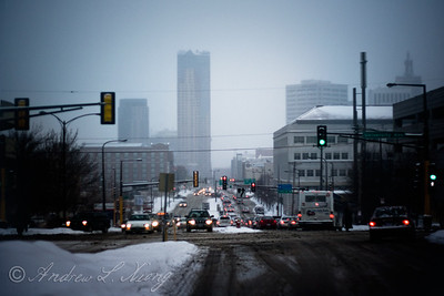 Winter, Downtown St. Paul, MN
