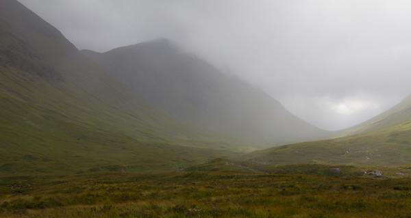 Mist, Glen Etive