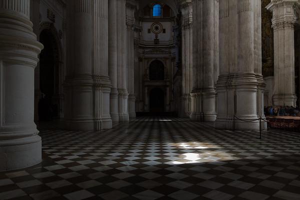 Ventana Azul, Catedral de Granada