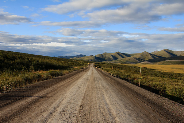 Evening on the Dempster Highway, Arctic Circle