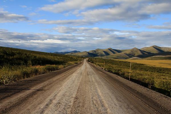 Evening, Dempster Highway, Arctic Circle