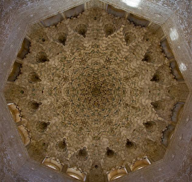 Ceiling, Nasrid Palace, Alhambra