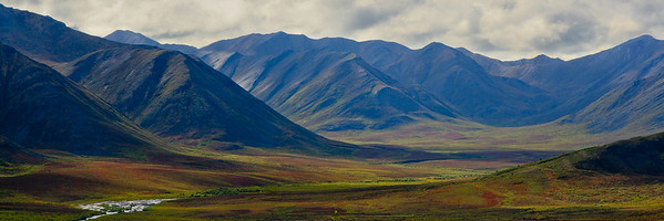 Blackstone Uplands, Dempster Highway 1