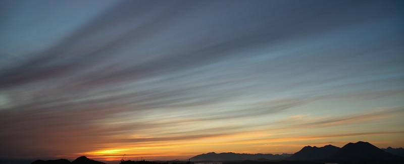 Sunset, Pacific Rim