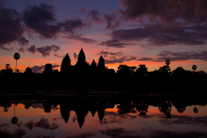 Dawn, Angkor Wat
