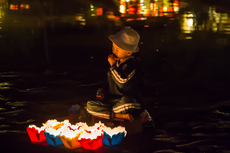 The Floating Lantern Vendor