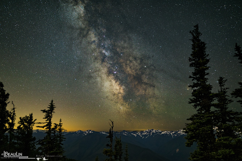 Milky Way from Hurricane Hill