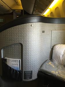 AA 777, DFW to NRT